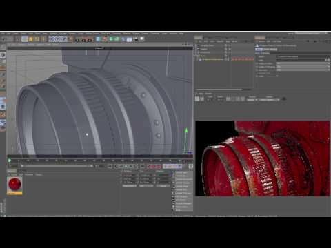 Arnold for Cinema 4D: Curvature Map