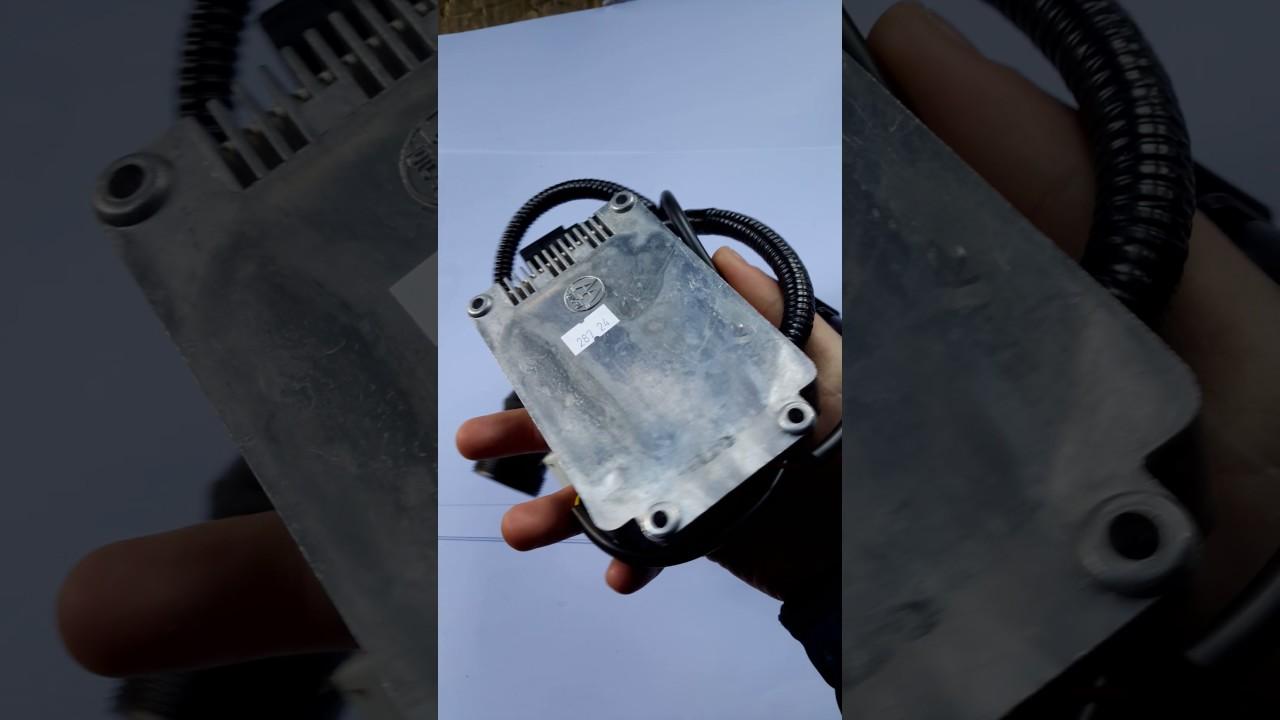 Пульт управления отопителя 14ТС-10 - YouTube