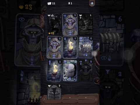 Card Thief Game Guide - Stage 1 Black Manor - IOS/Android Game Play | Strategy (by TinyTouchTales)