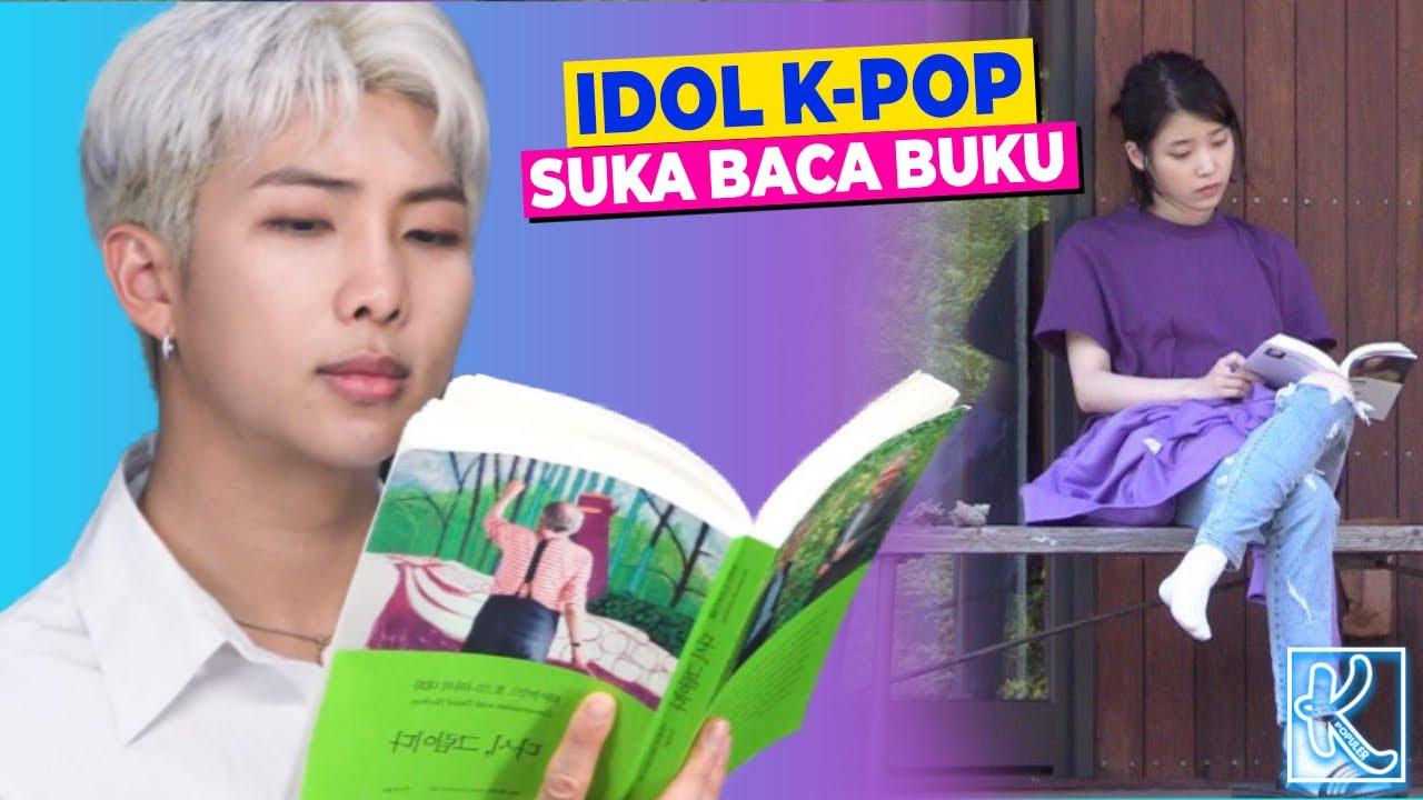 Gak Cuman Modal Paras Doang! Ternyata Idol K-Pop ini Gemar Baca Buku Lho, Idolamu ada?