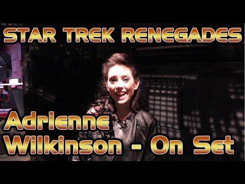 Adrienne Wilkinson - On Set - Star Trek Renegades