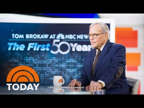 Tom Brokaw On 50 Years At NBC News: 'I Had A Lot Of Lucky Breaks' | TODAY