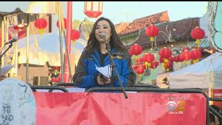 Amber Lee Is A Featured Speaker At Annual Firecracker Festival