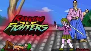 Ranking of Fighters 0043: Ultra Fight Da Kyanta 2 & Street Fighter Alpha: Warriors' Dreams