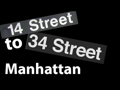 Manhattan from 14th to 34th Streets, Midtown South, New York