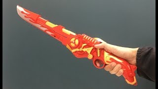 2 in 1 toy sword and blaster toy gun