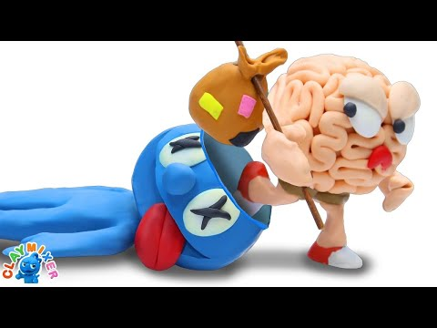 No Brain No Bane - Stop Motion Animation Cartoons