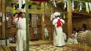 2013平家秘境 椎葉村の合戦原神楽/secluded Japan village,Shiiba.