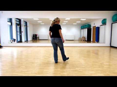 Line-Dance Kurs Anfänger: One Step Forward, Two Steps Back, Demo & Schritterklärung  (deutsch)