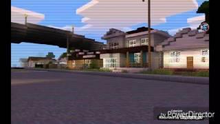 Minecraft PE GTA San Andreas Map.