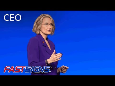 FASTSIGNS® CEO Catherine Monson Keynote Presentation At IFA 2016 | FASTSIGNS®
