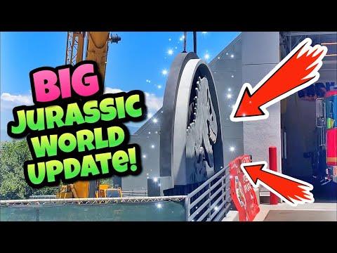 Big Jurassic World Ride & HHN Update! | Universal Studios Hollywood (2019)