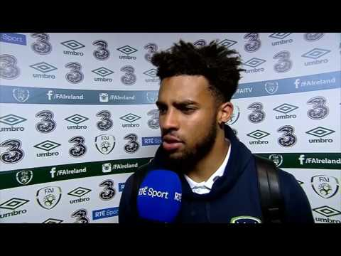 Republic of Ireland v Uruguay - post-match interview - Cyrus Christie (4/6/17)