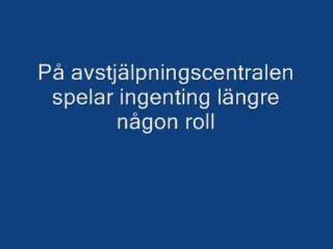Ebba grön - Mental Istid (text)