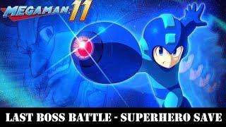[PS4] Mega Man 11 - Max Bolts & All Items Unlocked - Plus Last Boss Battle SuperHero Save