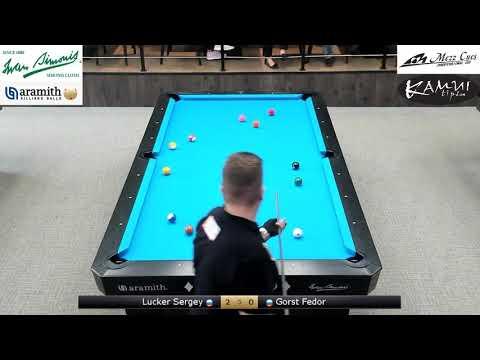 Lutsker S. vs Gorst F. 1/8  Russia Open 8 ball 4 tour 2019 S. Petersburg