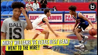 MIKEY WILLIAMS VS TEXAS BEST 8TH GRADE SQUAD!