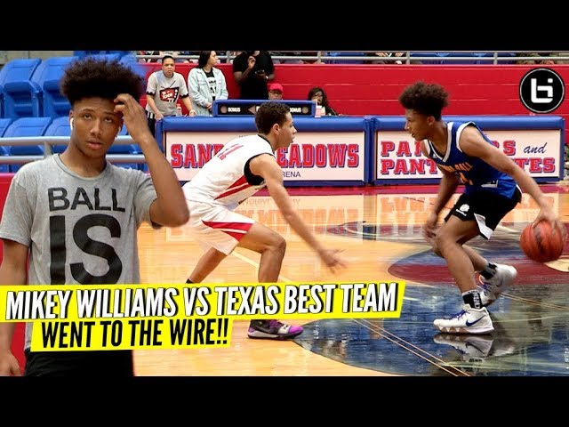 mikey-williams-vs-texas-best-8th-grade-squad