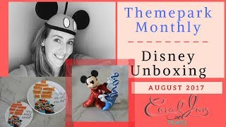 NEW Themepark Monthly August 2017 Disney Subscription Unboxing thumbnail
