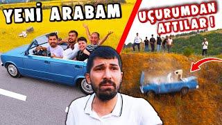 YENİ ÜSTÜ AÇIK ARABA ALDIM ( UÇURUMDAN ATTILAR ) @Ali Muhsin Atam@Murat Sungurtekin