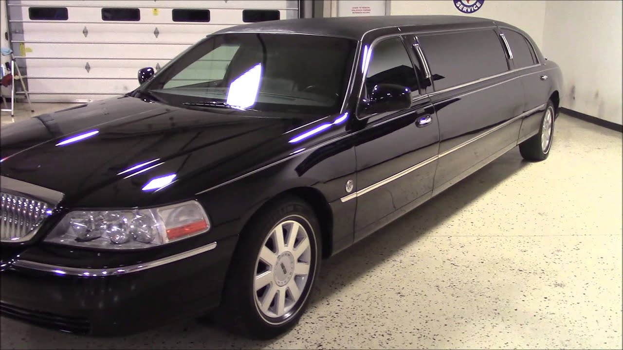 2016 Lincoln Town Car >> 2005 Lincoln Limo black - YouTube