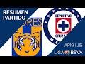 Resumen y Goles | Tigres UANL vs Cruz Azul | Jornada 15 - Apertura 2019 | Liga BBVA MX