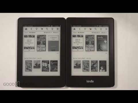 Amazon Kindle Paperwhite 3 vs Kindle Paperwhite 2 - YouTube