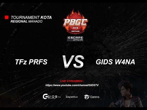 TFz PRFS vs GIDS W4NA - Qualification Match PBGC 2018 : Manado