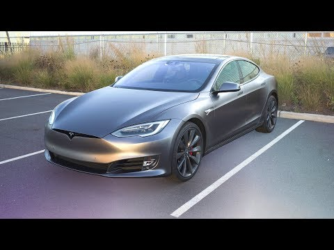 Download Youtube: Space Gray Tesla Model S Wrap!