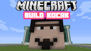 Minecraft Indonesia - Build Kocak (1) - Mas Botak Menjadi Gondrong!