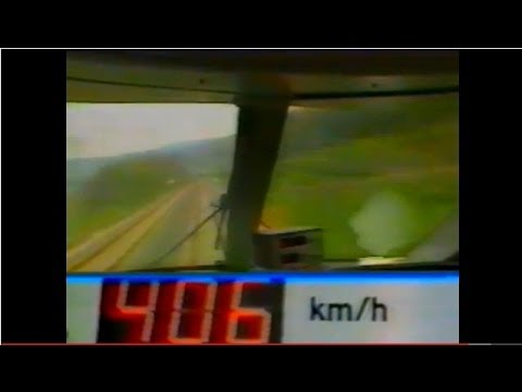 DB ICE test 1985