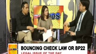 LEGAL MINDS: BOUNCING CHECK LAW OR BP 22
