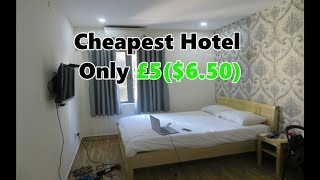 World's Cheapest Hotel Ever!