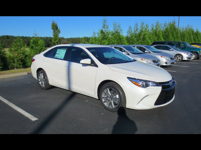2016 Toyota Camry Se Full Tour Start Up At Massey Toyota