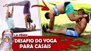 DESAFIO DO YOGA PARA CASAIS   YOGA CHALLENGE