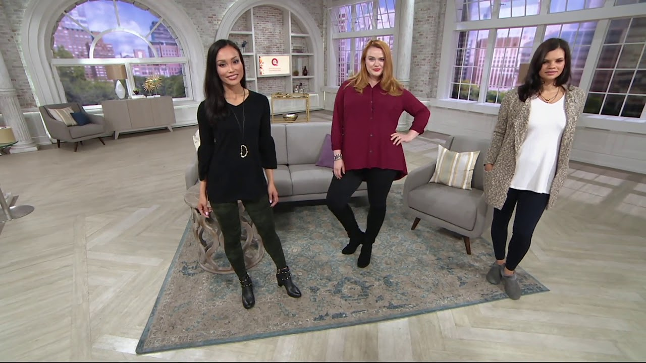 82b92969f0ee2 Spanx Look at Me Now Seamless Leggings on QVC - YouTube