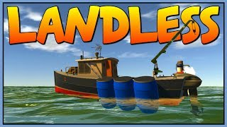 WATER WORLD SURVIVAL GAME - Fighting Pirates and Hunting Sharks - Let