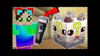 PopularMMOs Pat and Jen Minecraft: CLOUD LUCKY BLOCK!!!  Mod Showcase
