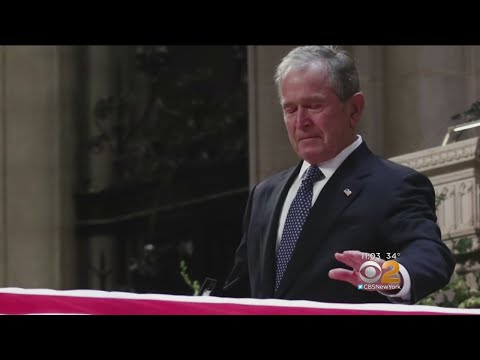 Funeral Held For Former-President George H.W. Bush
