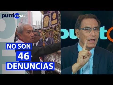 Denuncias contra Vizcarra: Punto Final confirma que no existen 46 sino solo dos denuncias pendientes