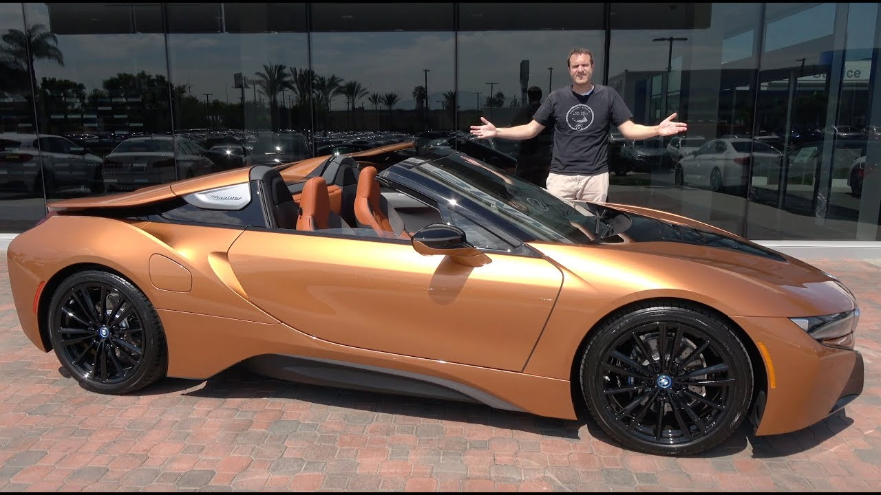 Here's Why the BMW i8 Roadster Is Worth $175,000
