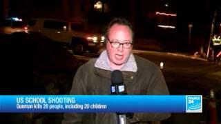 US School shoting : Adam Lanza fired shots in Sandy Hook Elementary School in Newtown, Connecticut