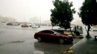 Heavy rain mussafah shabia 9 il ninnulla kazhcha 9-3-2016 morning(2)