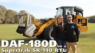 DAF-180D on a Supertrak SK-140 RTL - Interview with Sean Hyde - DENIS CIMAF inc.