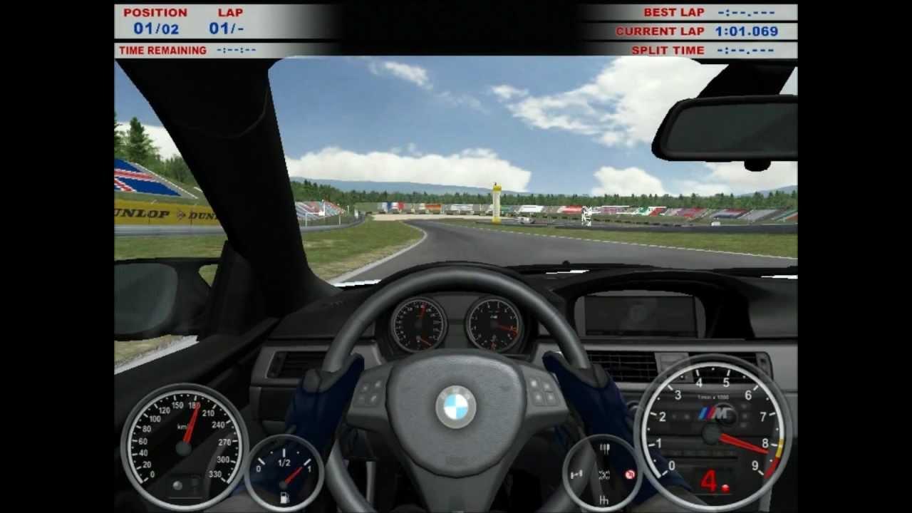 gameplay of bmw m3 challenge using keyboard - youtube