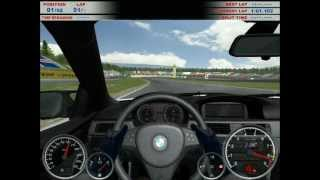 Gameplay of BMW M3 Challenge using keyboard