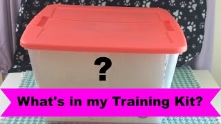 What's in my Training Kit?