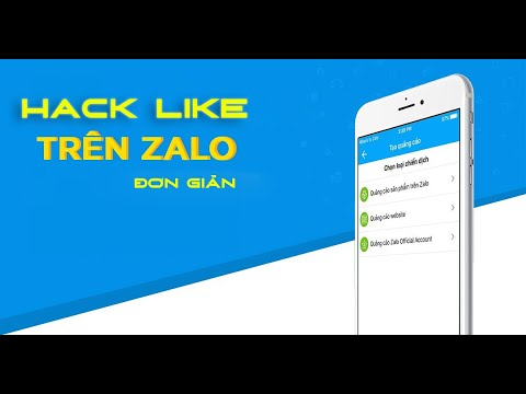 Hướng dẫn Hack Like Zalo mới nhất 2020 | Giúp tạo tương tác ảo