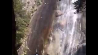 行縢の滝~行縢山