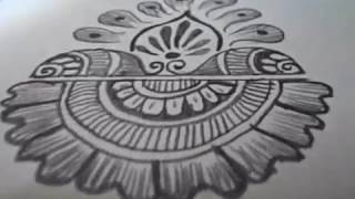 How to Learn Arabic Mehndi Design (Fourth Day Class)